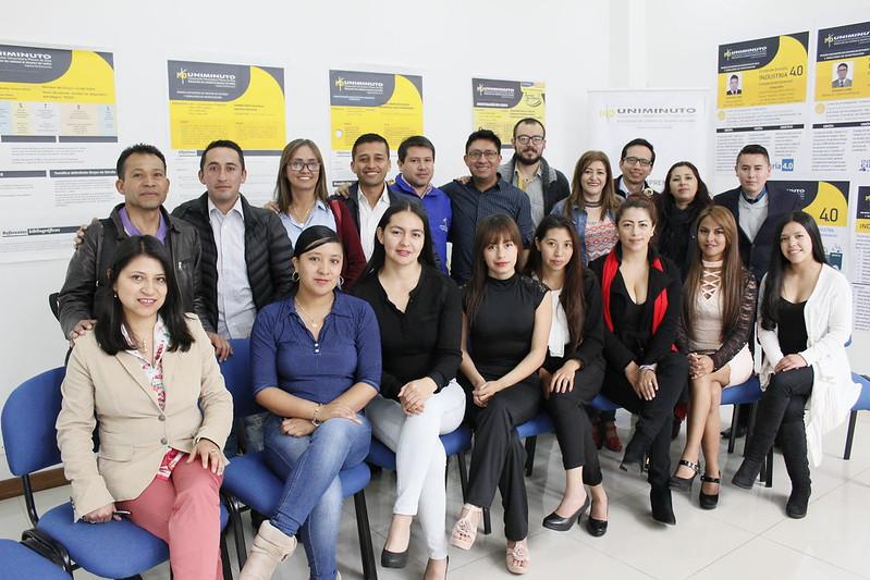 Primer encuentro de grupo de semilleros de Investigación y Grupos de Estudio de los programas de Administración de Empresas y Administración financiera.