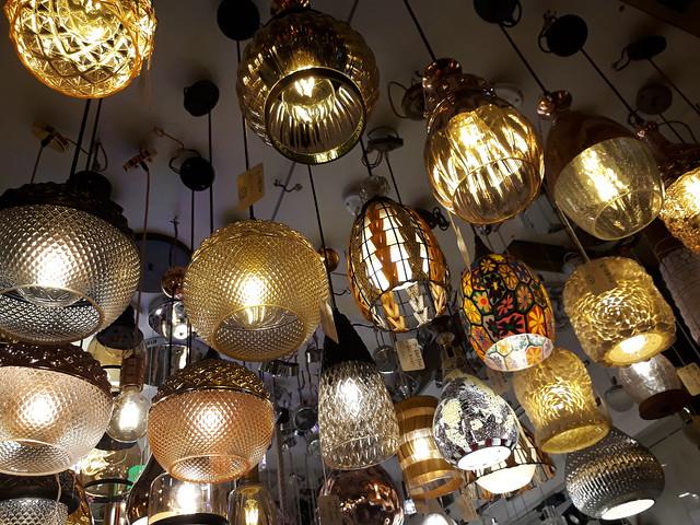 Moroccan lights in wholesale market Mumbai