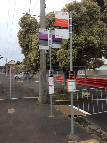 Bus stops, Port Fairy