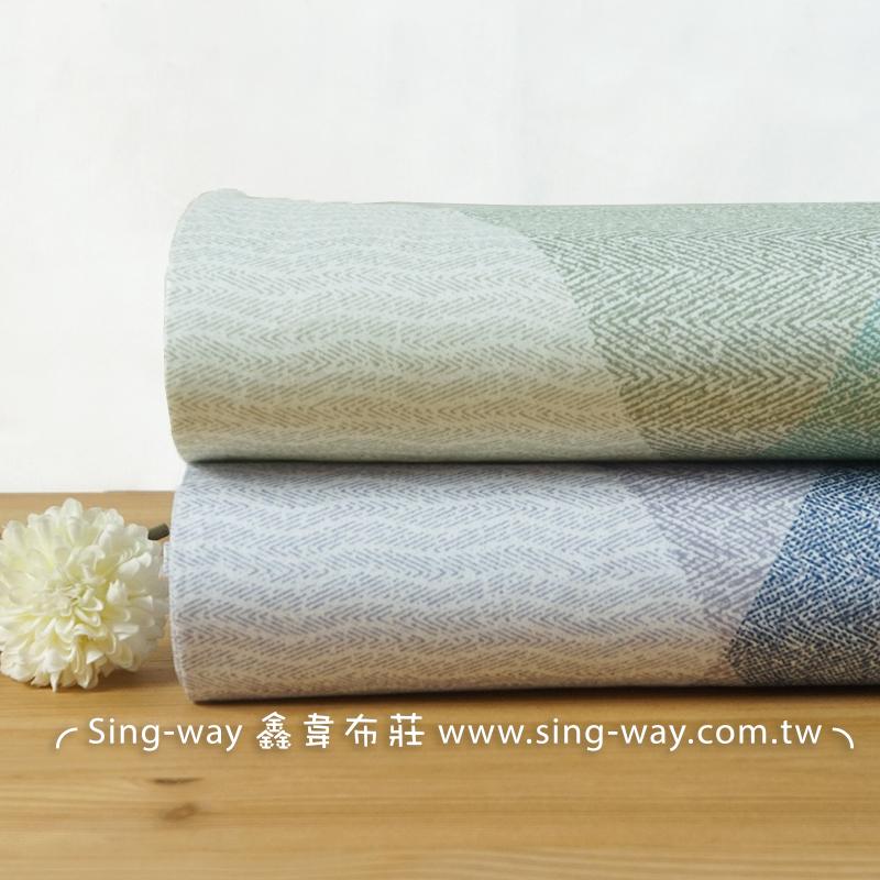 簡約幾合 線條 聖誕樹 簡樸 精梳棉床品床單布料 CA520002