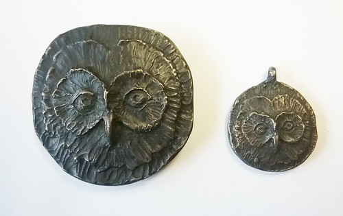 archimedes study obverse large and small