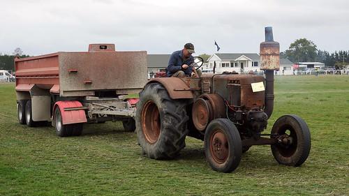 1952 Bulldog Lanz tractor.