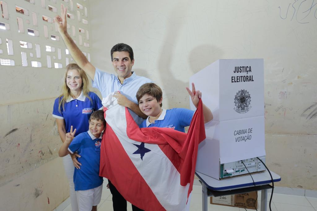 Helder Barbalho, do MDB, bate Márcio Miranda e é eleito governador do Pará, Helder Barbalho - votação