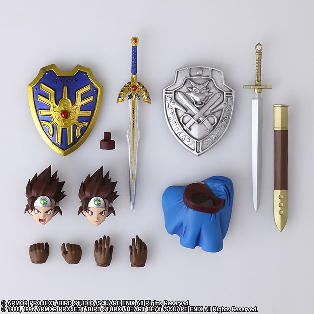 BRING ARTS《勇者鬥惡龍III 接著邁向傳說》「勇者」勇敢登場!ドラゴンクエストIII そして伝説へ… ブリングアーツ 勇者 アクションフィギュア