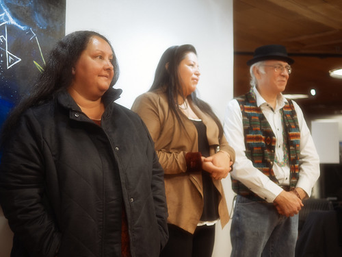 Oyate Welcoming at Two Rivers Gallery photo by Tommy Sar-3