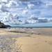 The beach at Porthtowan, North Cornwall