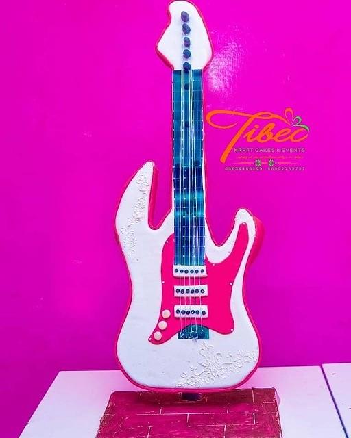 Guitar Cake from Tibec Kraft Cakes 'n' Event