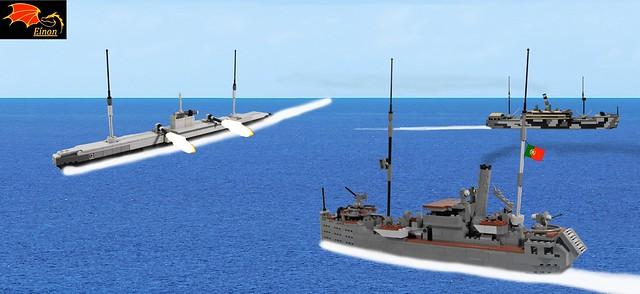 Battle between U-139 and Augusto de Castilho