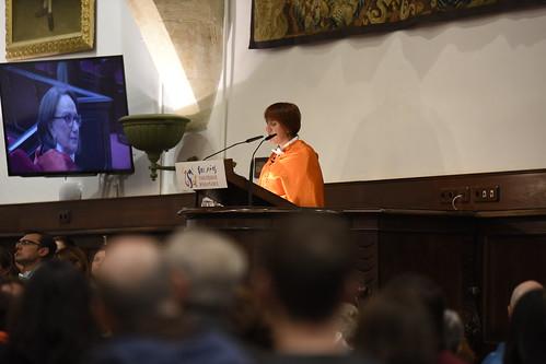 Ceremonia de investidura de Rebeca Grynspan como doctora honoris causa