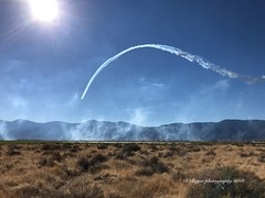 The Blue Angels perform at the Aviation Round-Up held in Minden Nevada.