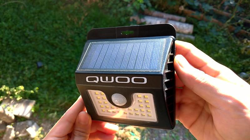 QWOO ソーラーライト 開封レビュー (8)