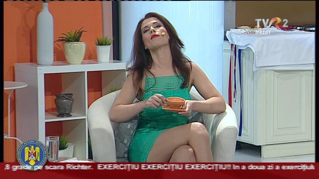 Aida Parașcan este senzația toamnei pe micul ecran