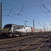 91110 1A25 1045 Leeds to Kings Cross,Barnby Lane LC Claypole near Newark October 22nd 2018 by avocet1989