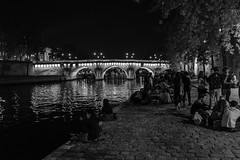 Student Party on the Seine