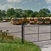 Adelwerth Bus Corp. Yard by AdelwerthBusPhotography
