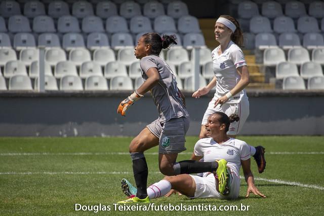 Santos 2 x 0 Rio Preto. Jogo válido pelas semifinais do Campeonato Paulista feminino, disputado no dia 23 de setembro, na Vila Belmiro