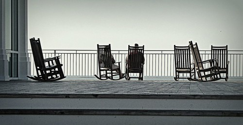 HBM - Sit and rock and watch the sea .......