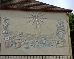 Cadran solaire, Mairie...Prayssac