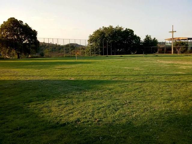 Campo do Braúnas - Tratamento do gramado