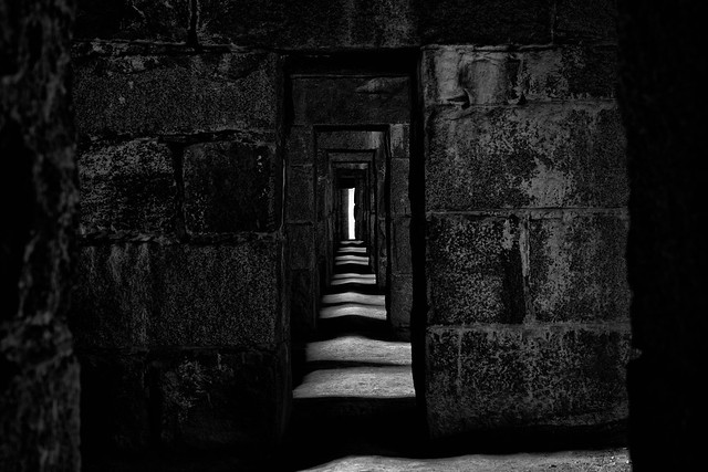 Light Crossing Corridor, Nikon D850, AF-S Micro Nikkor 60mm f/2.8G ED