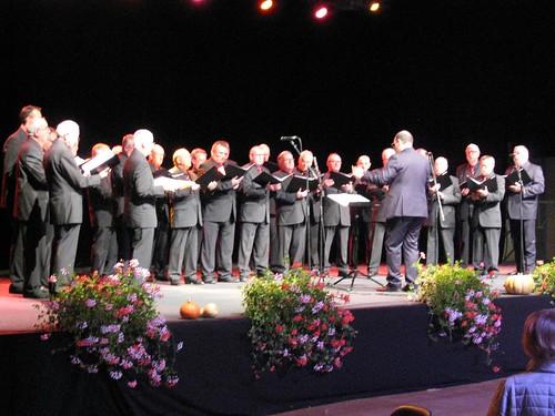 le choeur d'hommes Concordia de Blotzheim