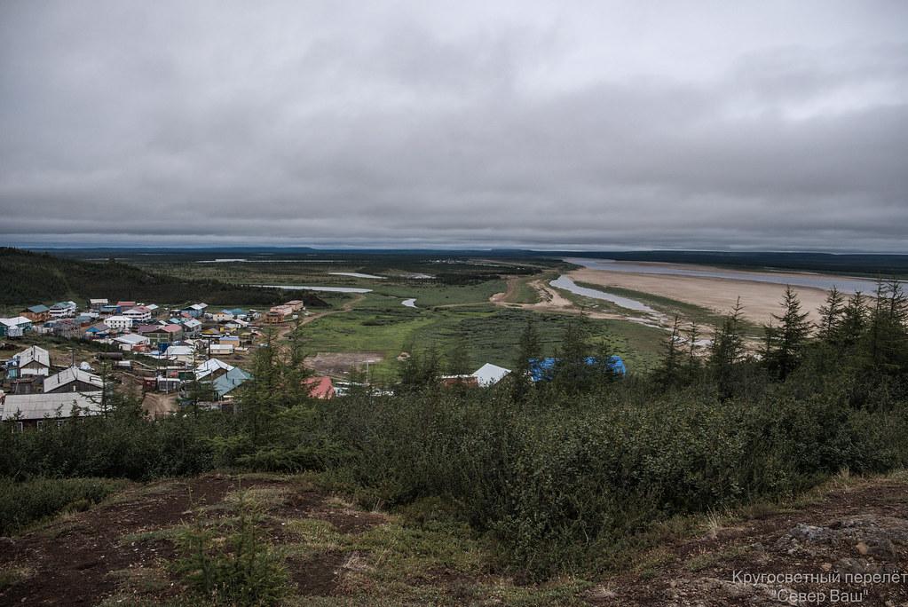 Вид на аэродром со стороны Саскылаха