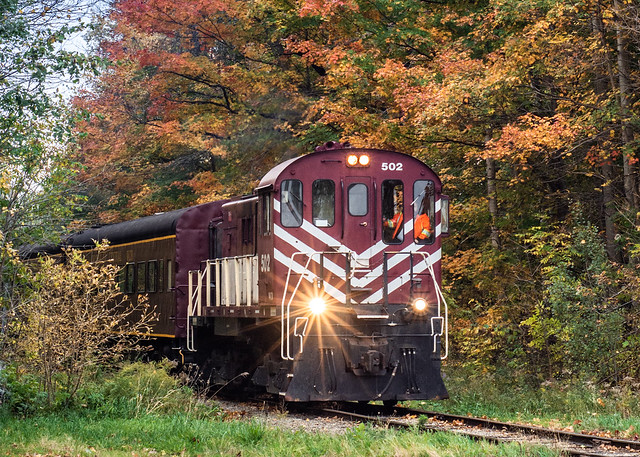 Fall Colour Train Ride