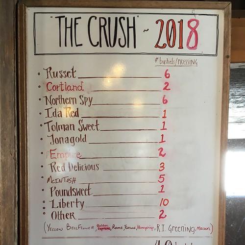 2018 Chapin Crush Cider