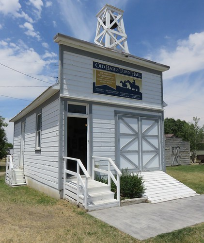 Old Baggs, Wyoming Town Hall