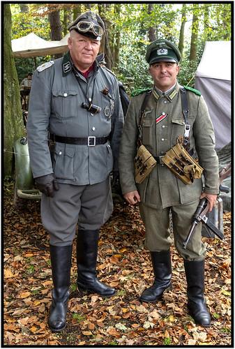 Ian (SS - Sturmbannführer (Major)) & Adam (Wehrmacht)