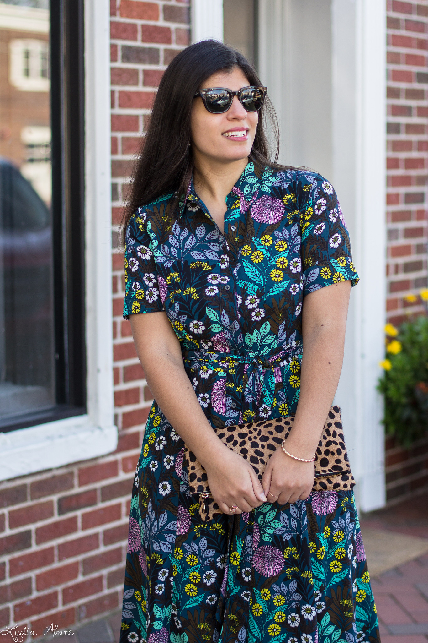 J.Crew X Abigail Borg shirtdress, leopard clutch, coach pumps-14.jpg