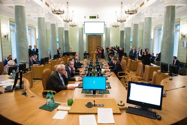 Ministru prezidents Māris Kučinskis un nozaru ministri informē par valdības darbu 1000 dienās