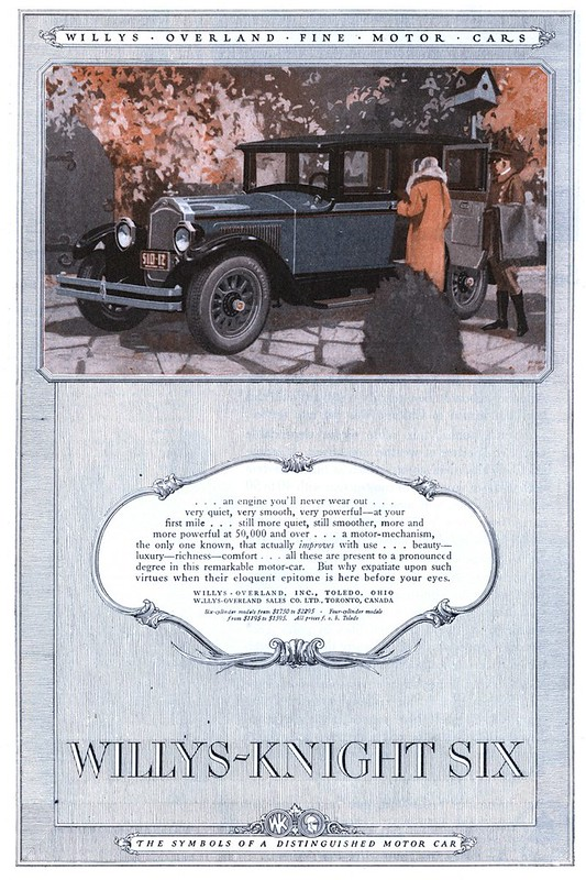 1925 Willys-Overland, Willys-Knight Six