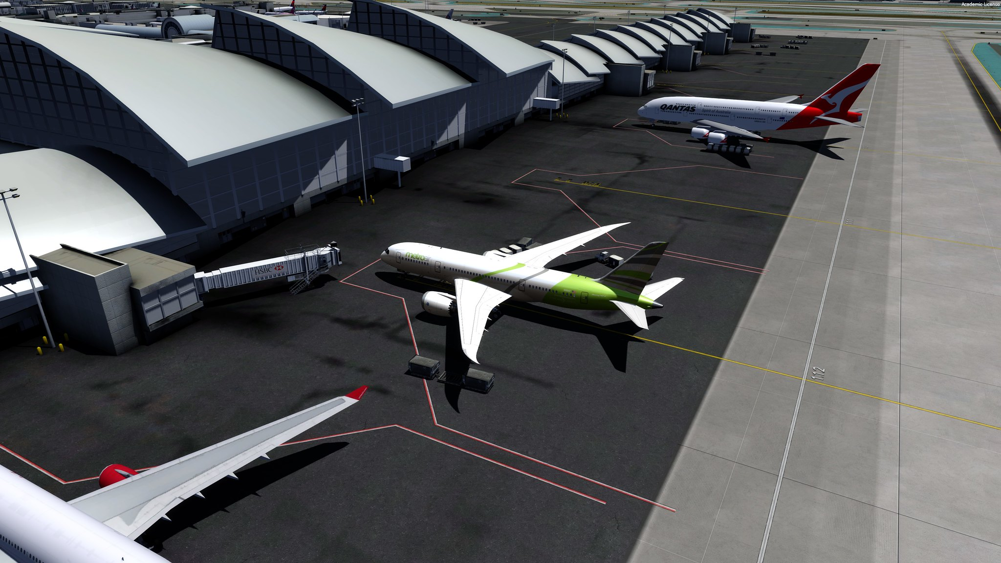 KLAX - Only 1 jetway after update **SOLVED**