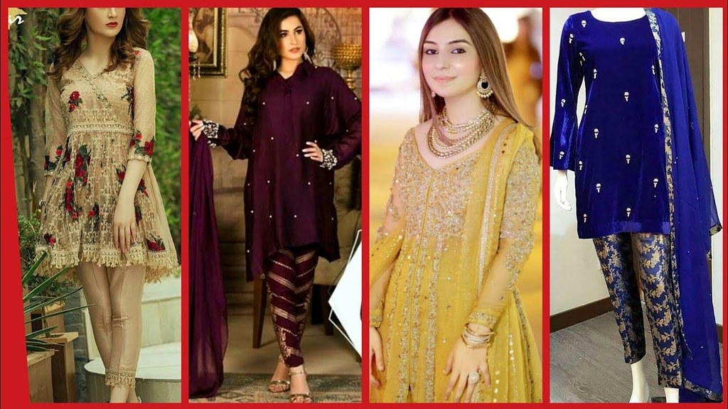 Latest Collection Of Party Wear Designer Dresses 2018 2019