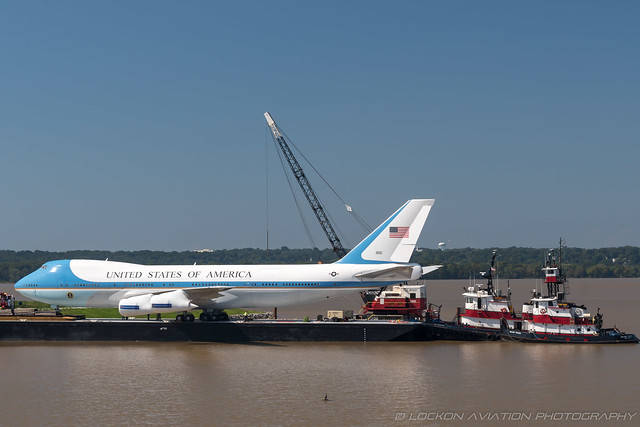 1-Oct-2018 National Harbor N485EV 747-212B(SF) (cn 20712-218)   / Air Force One Experience