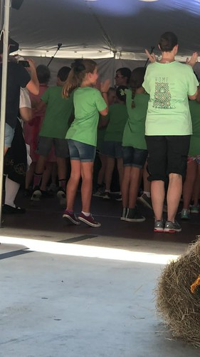 Chicken Dance with School Group Cullman