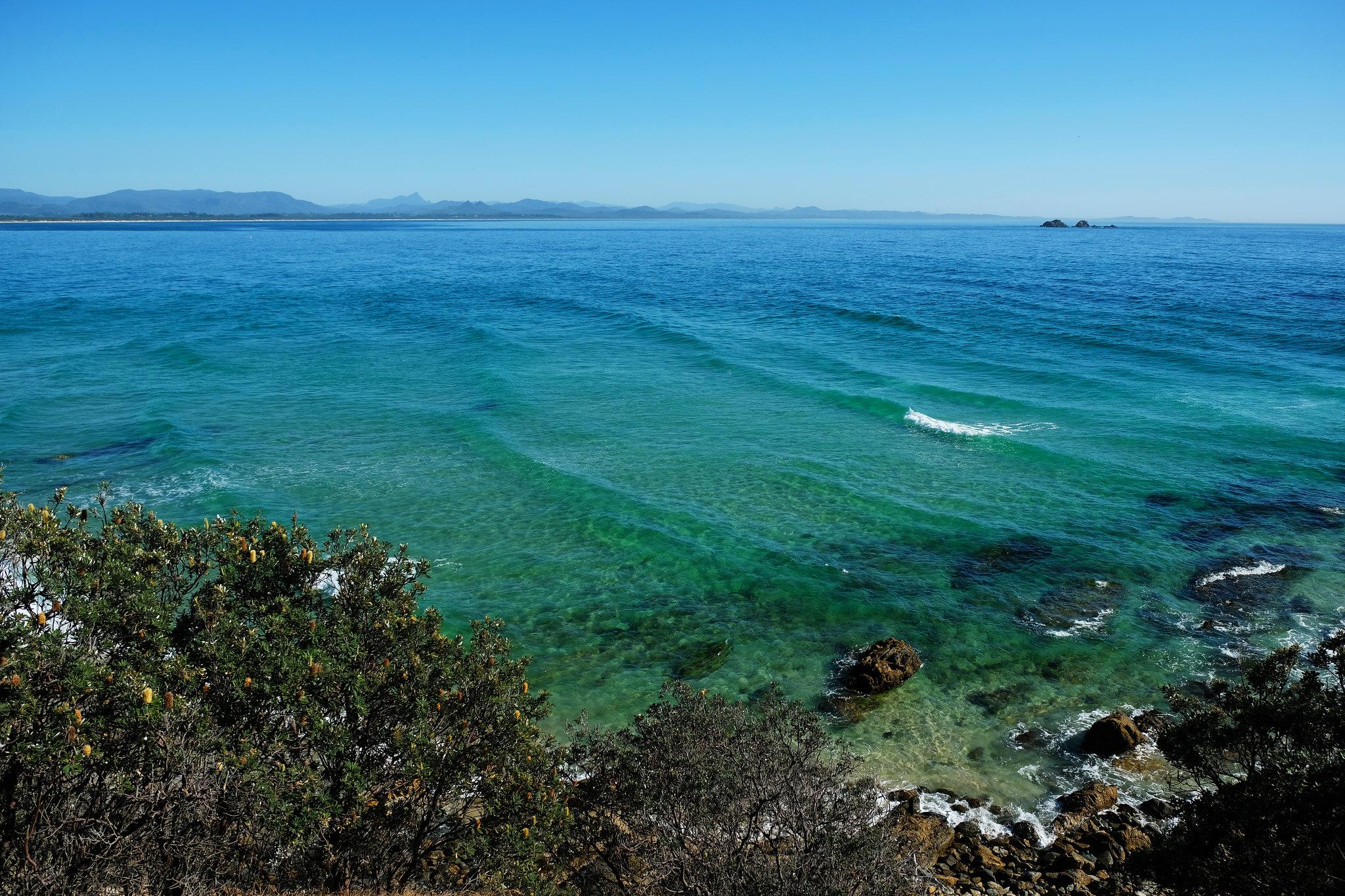 Little Wategos Beach, Byron Bay, New South Wales, Australia