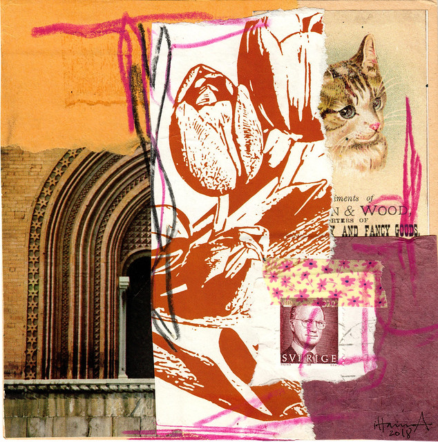 Kittens for Breakfast - Collage no 266 by iHanna