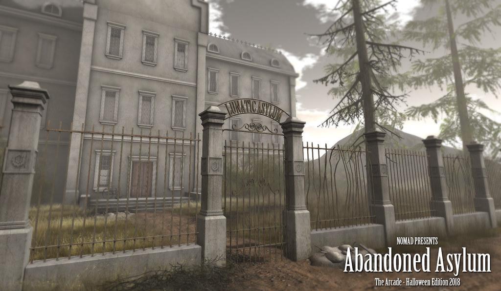 NOMAD - Abandoned Asylum - TeleportHub.com Live!