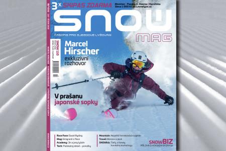 SNOW 110 - říjen 2018: Marcel Hirscher, prašan v japonské sopce a Jin a Jang lyžaře