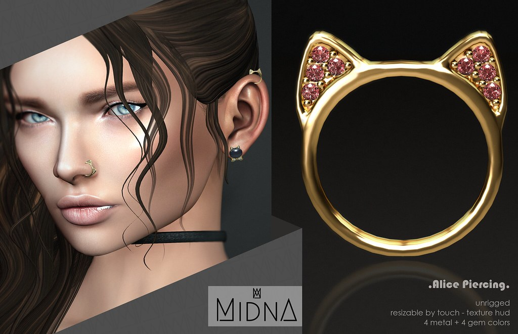 Midna - Alice Piercing - GIFT - TeleportHub.com Live!