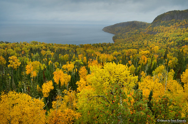 Lake Superior Overlook at Grand Portage, MN