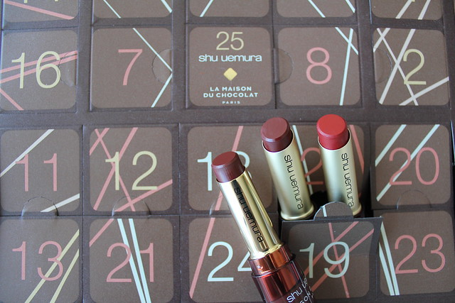 Shu Uemura x La Maison du Chocolat Holiday 2018 collection review