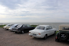 Four classic Tatras and a classic Ford