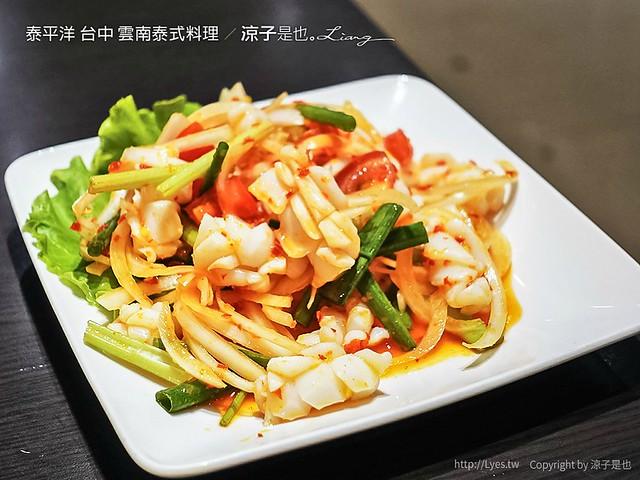 泰平洋 台中 雲南泰式料理 4