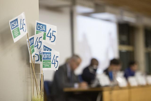 CFS Side Event 59 - Working together against food crises