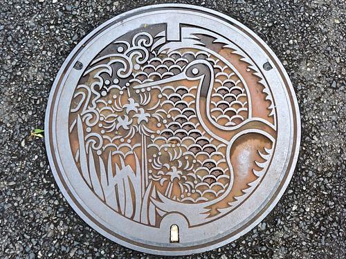 Manazuru Kanagawa, manhole cover (神奈川県真鶴町のマンホール)