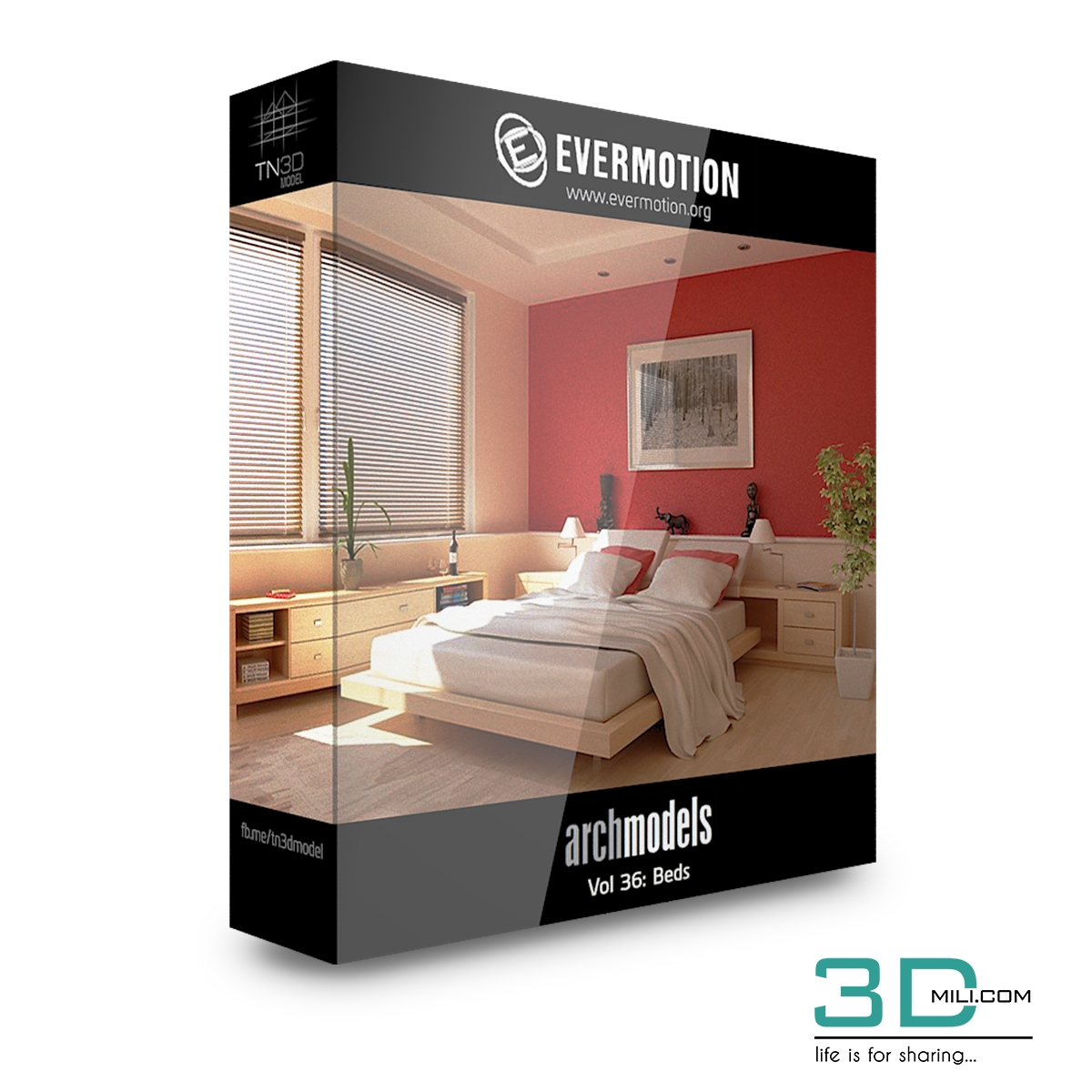 Evermotion Archmodels Vol 36 Beds 3dmili 2020