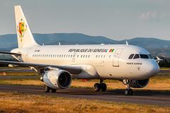 6V-ONE_cn1556_Airbus_A319-115CJ_Republique-Du-Senegal_LFMP_Aout2018